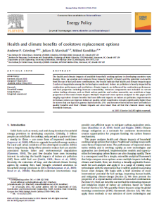 Health and climate benefits Grieshop